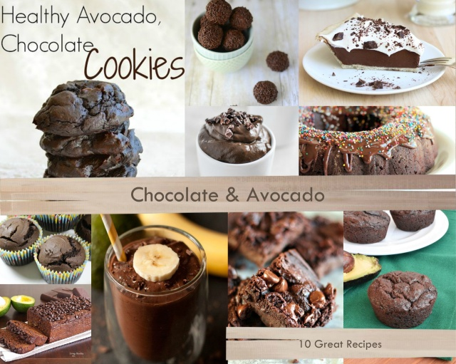 When chocolate and avocado combine, something wonderfully magical happens – 10 Great Recipes!