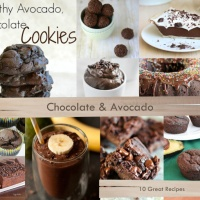 When chocolate and avocado combine, something wonderfully magical happens - 10 Great Recipes!