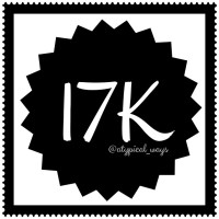Wow, 17K followers!