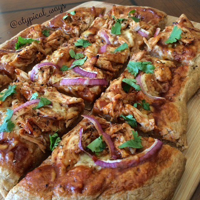 This is the QUICKEST & EASIEST homemade BBQ Chicken Pizza you will ever make!