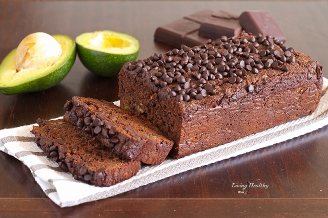 Chocolate Avocado Bread by Living Healthy With Chocolate