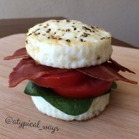 Egg White BLT - with Turkey Bacon!