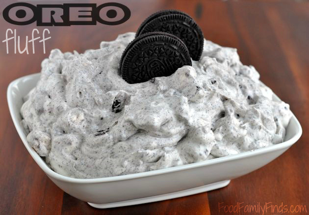 White Chocolate Oreo Fluff by Food Family Finds