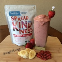 'Goji Goodness' Protein Smoothie! You may not be familiar with Goji Berries but let me tell you why you should be! See below for how awesome these little berries are!
