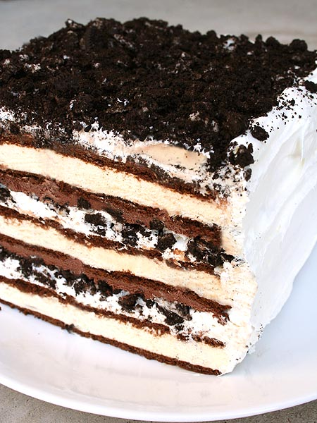 Oreo Ice Cream Cake by Tamara Jensen