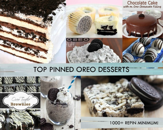 Top Pinned Oreo Desserts