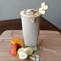 "Triple ""P"" - Peach Protein Power Smoothie! Never heard of Maca Powder? See below for 5 reasons you should include it into your regular healthy lifestyle!"