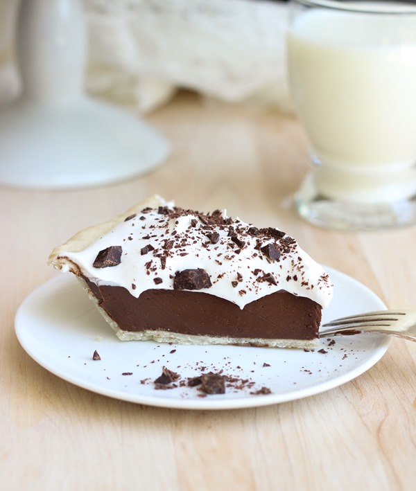 Chocolate Avocado Pie by Making Thyme For Heal