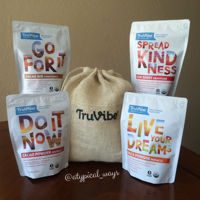 *NEW PRODUCT SPOTLIGHT - TruVibe Raw Organic Superfood*