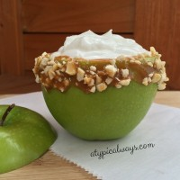 Caramel Apple Yogurt Bowl!