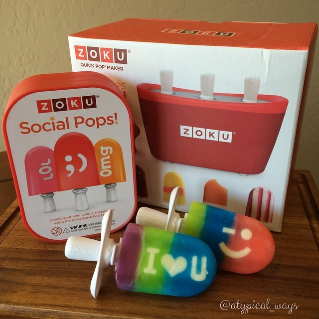 *NEW PRODUCT SPOTLIGHT – Zoku Quick Pop Maker & Social Media Kit*